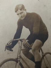 François FABER Photographie Ancienne Gagnant Tour de France Bicyclette
