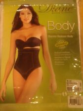 Body Shaper Thermal Abdomen Seamless Underbust Strapless Wht Size M
