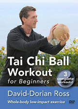 Tai Chi Ball Workout for Beginners (DVD, 2011) 3 Workouts, Health, Low-impact