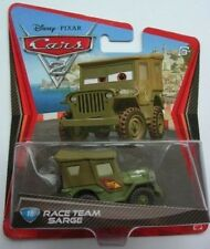 CARS 2: NUOVO 1:55 RACE TEAM SARGE Willys ARMY JEEP