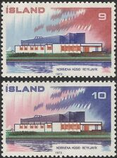 Iceland 1973 Nordic House/Building/Architecture/Postal Co-operation 2v (n45309c)