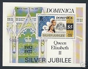 Dominica - Silver Jubilee - Scott Scott 554 Type II