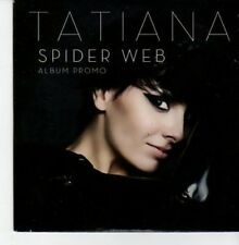(BU218) Tatiana, Spider Web - DJ CD