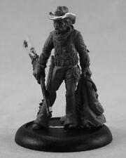 Batt Ridgeley Sharpshooter Reaper Miniatures Chronoscope D&D RPG Wargames Cowboy
