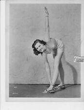 Anne Gwynne busty leggy VINTAGE Photo
