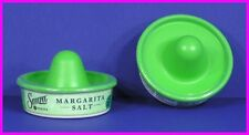 ** 2 Sauza Tequila Margarita Salt Sombrero + Glass Rimmer 6.25 oz Rimming NEW **