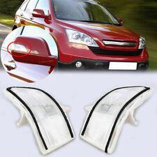 Pair Rearview Mirror Amber Turn Signal LED Light Fit for Honda CRV 2007-2011