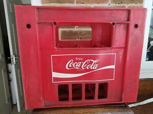 Vintage Coca Cola Crate Red