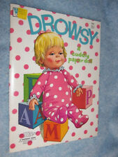 1973 Whitman Drowsy a Cuddly paper doll #1964