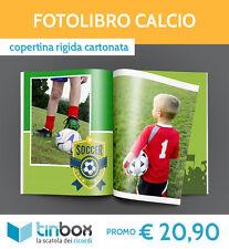 FOTOLIBRO CALCIO f.to A4 - Copertina rigida  ALBUM FOTO | FOTOLIBRI | TINBOX