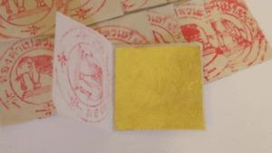 10 x Blattgold 100% essbar 999/1000 geschlagen Dekoration Speisen Dessert 39x39