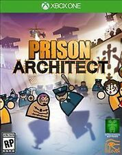Brand NEW Prison Architect (Microsoft Xbox One, 2016) FREE SHIPPING!