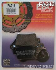 BMW F800GS (2008 to 2015) EBC Kevlar REAR Disc Brake Pads (FA213) (1 Set)
