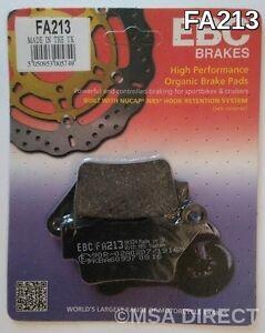 EBC Organic REAR Brake Pads For TRIUMPH STREET TRIPLE 675 / 675R (2013 to 2015)