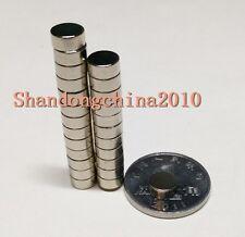 100pcs Neodymium Disc Mini 6mmX4mm Rare Earth N35 Strong Magnets Craft Models
