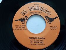 EL PADRINO y Sus Muchachos - RARE 1970's Huapango Bolero PEPE GUIZAR ALDO MONJE