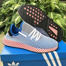 NEW Men's Adidas Originals Deerupt Runner Shoe AC8704 Blue Bird Men's Size 9