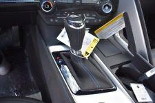 C7 Stingray Corvette  Automatic Suede Shift Boot & Knob w/ Vivid Blue Stitching