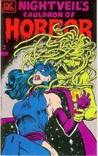 Nightveil's Cauldron of Horror # 2 (44 pages, Joe Kubert, John Bell) (Estados Unidos, 1990)
