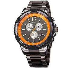 Men's August Steiner AS8229 Swiss Quartz Chronograph Stainless Steel Watch