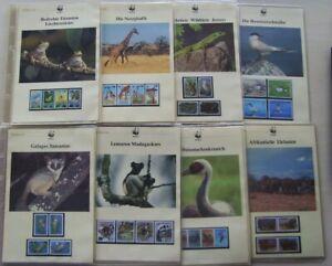 WWF Sammlung Tiere im Ringbinder mit Schuber    A42