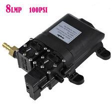 8LPM 100PSI 12V Diaphragm Water Pump Self Priming High Pressure Caravan Boat AU