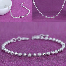Fashion Unique Ankle Bracelet Women 925 Sterling Silver Anklet Jewelry Chain