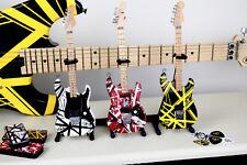 Evh Ultimate Collection Set Of 3 Eddie Van Halen Mini Guitar Collectibles