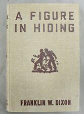 "VINTAGE 1937 HARDY BOYS  "" A FIGURE IN HIDING "" BOOK"