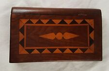 Vintage Wood Marquetry Photo Frame - Traveler.