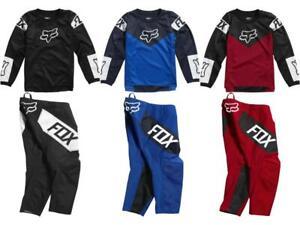 Fox Racing 180 Revn Kid's Child Jersey & Pant Combo MX/ATV/BMX Boy's Youth 3-5yr