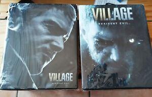 2 x Resident evil Village Steelbook