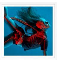 Insane51 Falling In Art Print Silkscreen 3D S/N Banksy Whatson Eelus Street Art