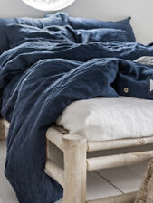 New Magic Linen duvet cover KING size NAVY