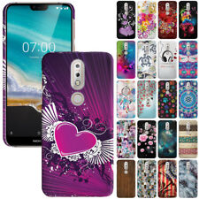 For Nokia 7.1 2018 5.84 inch Phone Design Protector Hard Back Case Cover Skin