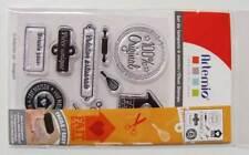 10 Clear Stamp Tampons Fait Maison Pièce Unique Artemio Scrapbooking Carterie