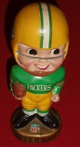 1967 Green Bay Packers Nodder Bobblehead Great Condition Vintage Cool Item RARE!
