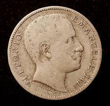 Kgr. Italien, Vittorio Emanuele III., 2 Lire 1907 Rom, R!