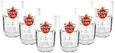 Havana Club Rum Longdrink Glas Gläserset - 6x Gläser 2/4cl geeicht Cocktail Glas