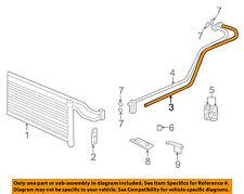 BMW OEM 96-97 740iL 4.4L-V8 TRANS OIL COOLER-Inlet tube 17221745638