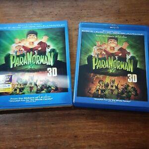 Paranorman 2D + 3D Blu-ray LIKE NEW! Blu-Ray (REGION A / Region 1 USA)