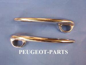 Peugeot 404 door handle chrome New old stock Left or Right (Price each one)