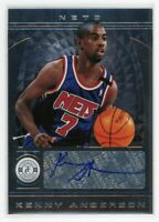 2013-14 KENNY ANDERSON AUTO PANINI TOTALLY CERTIFIED AUTOGRAPHS