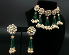 Bridal Kundan Ruby Emerald Choker/Meenakari Wedding necklace/Kundan Jewelry