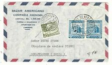 Venezuela: Cover circulated to schaffausen switzerland with diff. stamps.VE2626*
