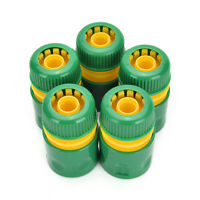 Garden Tap Water Hose Pipe Connector Quick Connect Adapter Fitting Watering WU