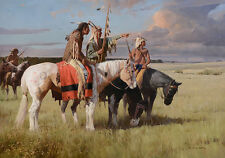 """""""In Quest of the Cree"""" Z. S. Liang Limited Edition Giclee Canvas"""