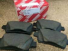 GENUINE TOYOTA YARIS MK1 FRONT BRAKE PADS 2000 2001 2002 2003 2004 2005