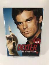 Dexter - Season 2 Disc 3 & 4 - DVD Disc Only - Replacement Disc