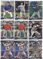 2017 Bowman Baseball Card Singles (1-100) PICK FROM LIST COMPLETE YOUR SET